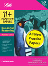 Letts 11plus Non-Verbal Reasoning Practice Papers Multiple Choice Format
