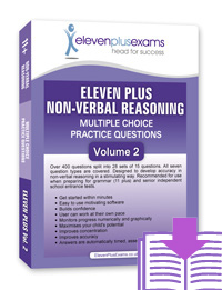 Eleven Plus Exams - Non Verbal Reasoning - Volume 2 - DOWNLOAD ONLY
